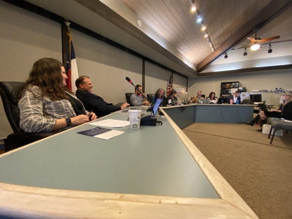 Rollingwood City Council postponed a presentation of a report on the city's main business corridor, Bee Caves Road. (Brian Rash/Community Impact Newspaper)