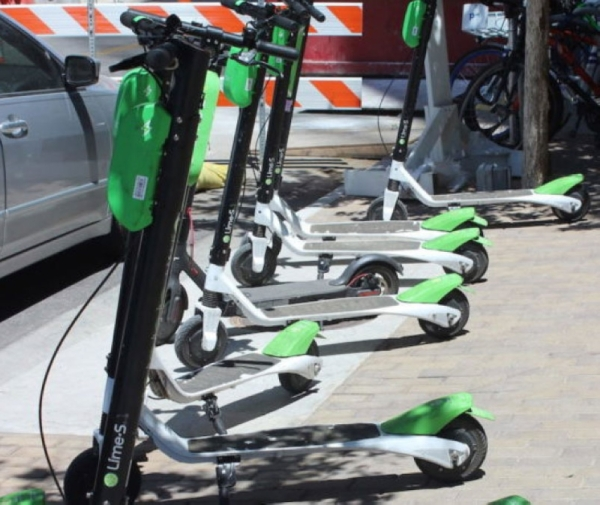 The Chandler City Council will consider a pilot program to bring scooters to the city.  (Emma Freer/Community Impact Newspaper)