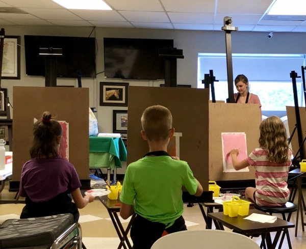 Artsea Lessons & Studio in Georgetown now offers kids classes on Thursdays. (Courtesy Artsea Lessons & Studio)