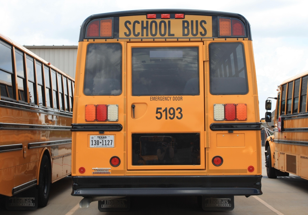 Carroll ISD recently approved the purchase of 15 new school buses. (Jen Para/Community Impact Newspaper)