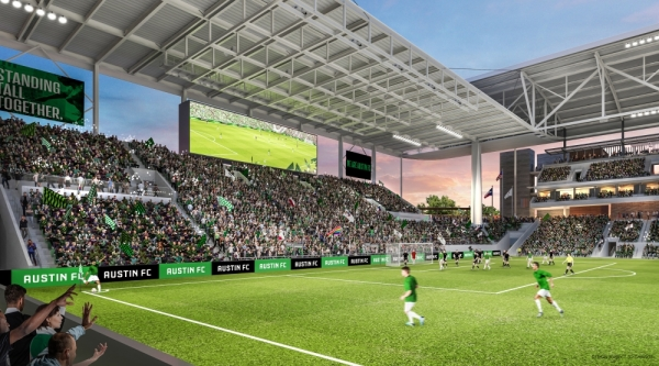 Austin FC will begin play in 2021.