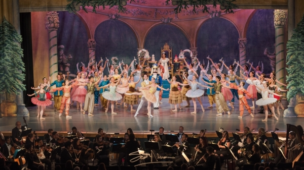 "The Houston Repertoire Ballet performs ""The Nutcracker"" starting Dec. 6. (Courtesy Scott Nilsson Photographer)"