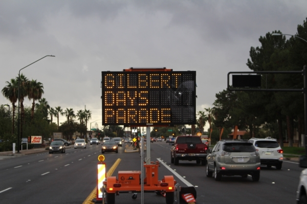 Gilbert Days, Gilbert Days Parade, Gilbert Days traffic, Gilbert traffic,