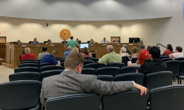 Residents shared concerns Oct. 3 about limiting public comments at Leander City Council meetings.  Marisa Charpentier/Community Impact Newspaper