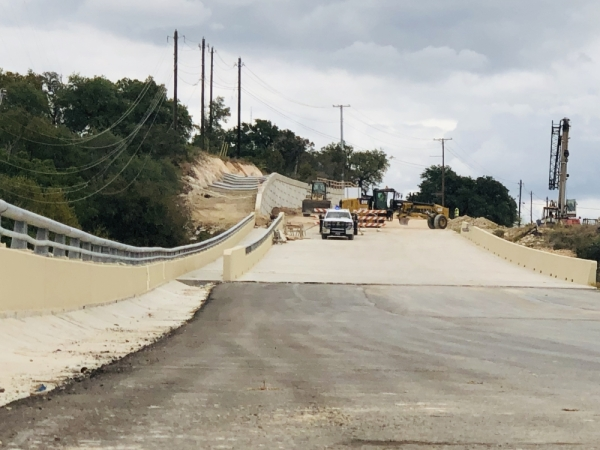 Two new southbound Loop 337 lanes will open Nov. 22, allowing drivers to traverse Bleiders Creek from Rock Street to River Road.