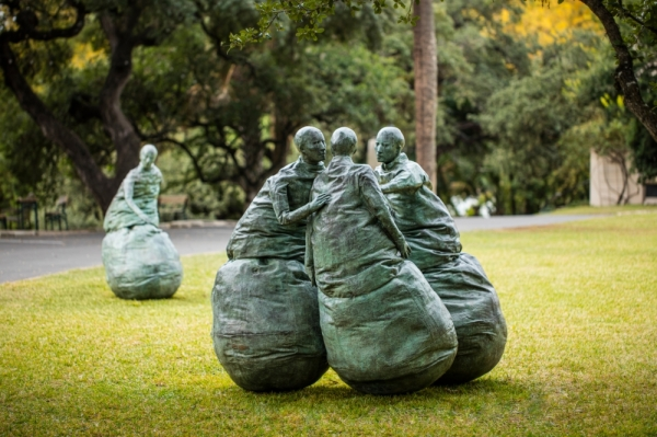 "The ""Last Conversation Piece, 1994-1995"" will sit among 20 outdoor sculptures at the Laguna Gloria Sculpture Park. (Courtesy The Contemporary Austin)"