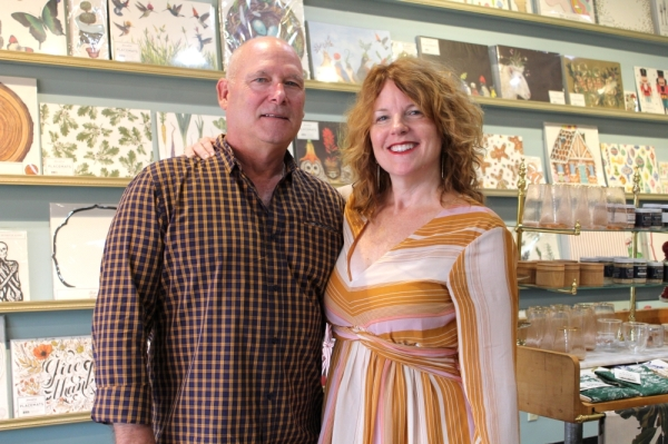 Hester & Cook owners Angie and Robbie Cook opened the company's White Bridge location in 2017. (Dylan Skye Aycock/Community Impact Newspaper)