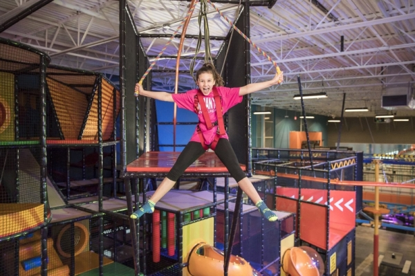 The Shenandoah adventure park is expected to open Dec. 7. Courtesy Urban Air Adventure Parks