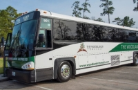 The Woodlands will offer a shuttle service to the Houston Livestock Show and Rodeo this year.