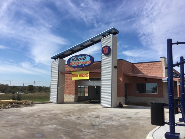 Rapid Express Car Wash is opening a new location in Kyle. (Vicki Hayes/Community Impact Newspaper)