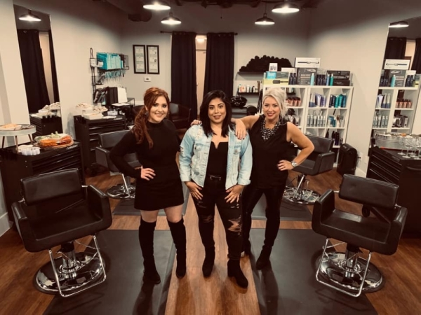Buda's new salon opened Oct. 22. (Courtesy The Salon Off Main)