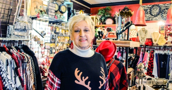 Linda Keltch opened Zoolala Boutique in September 2008 in Kingwood. The small shop sells women's clothes and accessories. (Kelly Schafler/Community Impact Newspaper)