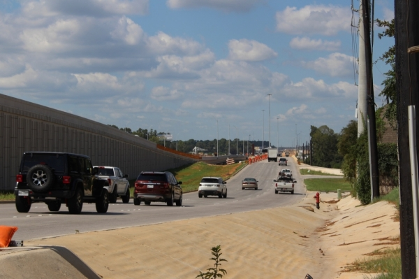 A total overnight closure of Hwy. 249 northbound in Pinehurst is scheduled for Tuesday, Nov. 26. (Anna Lotz/Community Impact Newspaper)