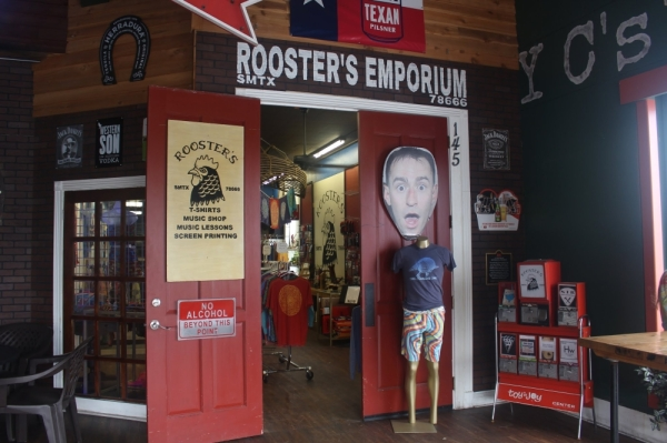 Rooster's Emporium will be closing its doors permanently on Nov.30. (Evelin Garcia/Community Impact Newspaper)