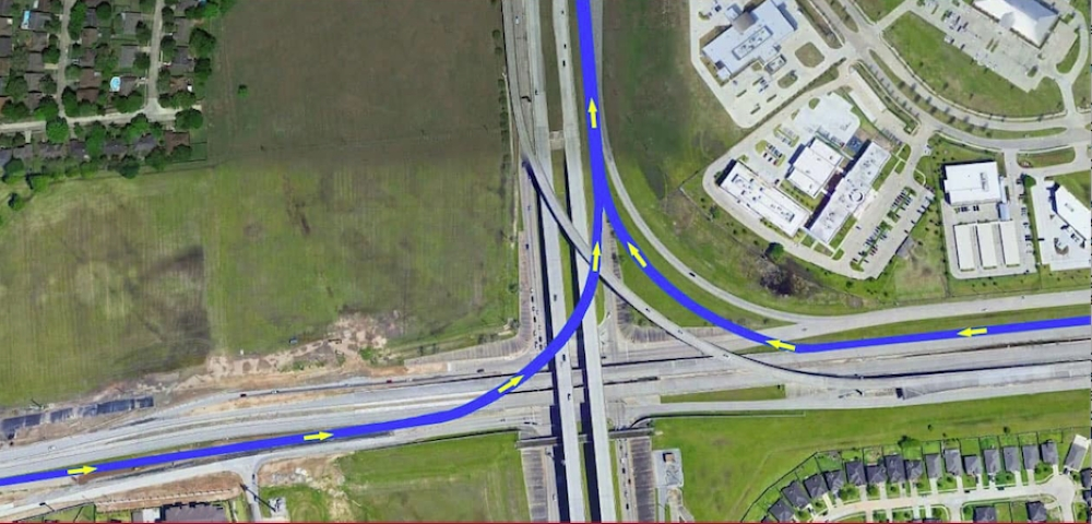 The Fort Bend County Grand Parkway Toll Road Authority is designing connector roads from the Westpark Tollway to the Grand Parkway. (Courtesy Andy Meyers, Fort Bend County Precinct 3 commissioner)