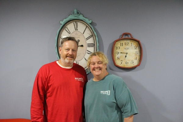 David Sebek and Tracie Whitacre opened Escape Again Rooms in Sugar Land in November 2016.