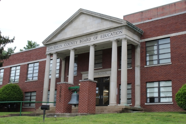 The Metro Nashville Public Schools headquarters is located in Berry Hill at 2601 Bransford Ave., Nashville. Dylan Skye Aycock/Community Impact Newspaper