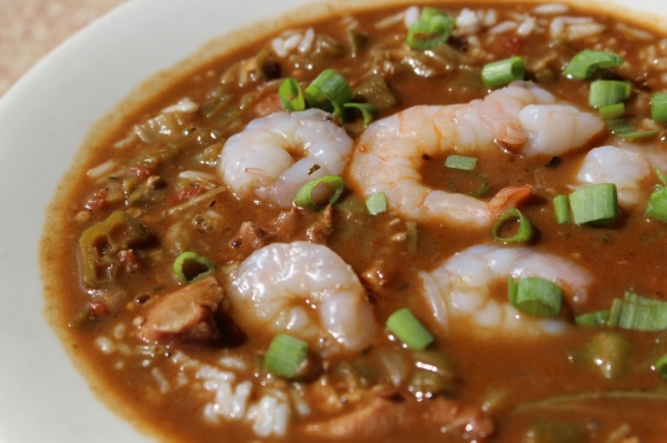The Louisiana gumbo ($5-$7) is a signature dish at Rockfish, said Mark Maddock, vice president of operations at Rockfish. The recipe has not changed in about 20 years. (Renee Yan/Community Impact Newspaper)
