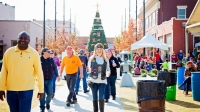 The city of Lewisville will host its Old Town Holiday Stroll Dec. 7 with a day full of activities for the whole family. (Courtesy city of Lewisville)