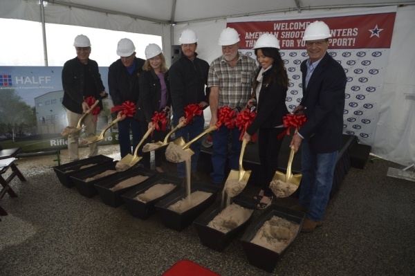 American Shooting Centers broke ground on an expansion Oct. 30. (Courtesy American Shooting Centers)