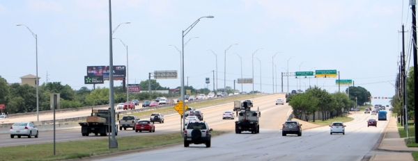 The US 183 North project will add two lanes in each direction to the highway between MoPac and SH 45 North. (Amy Denney/Community Impact Newspaper)