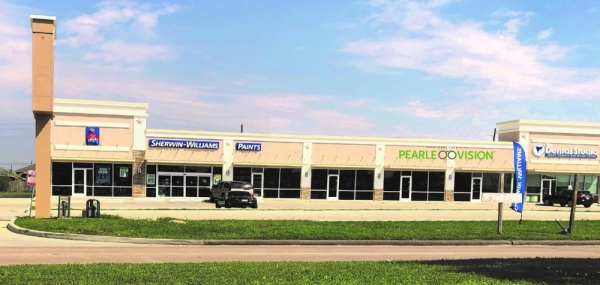 Pearle Vision will open at the Cypress Springs Plaza next spring. (Courtesy NewQuest Properties)