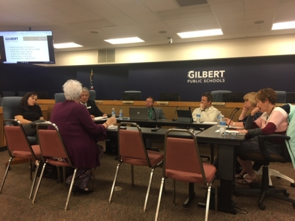 Gilbert Public Schools, Gilbert Public Schools governing board, Fran Grossenbacher, Project SEARCH, Banner Health