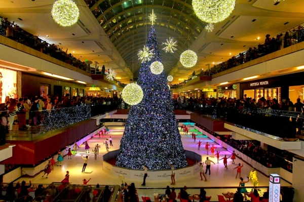 Galleria Houston Christmas tree