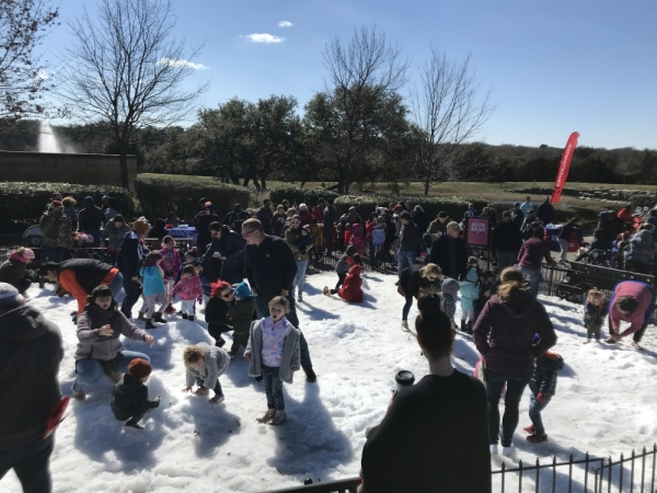 The Snow Day at Wolf Ranch event on Jan. 18 will include a variety of activities. (Courtesy Wolf Ranch Town Center)