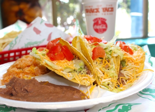 Taco Shack serves nachos, tacos, taco salads, enchiladas and burritos. (Courtesy Taco Shack)