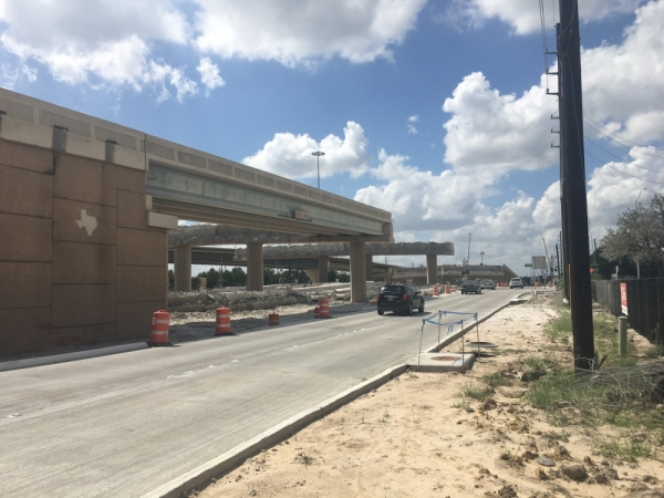The Texas Department of Transportation has several lane closures planned along Hwy. 290 this weekend, including at the Hwy. 6 bridge over Hempstead Road. (Shawn Arrajj/Community Impact Newspaper)