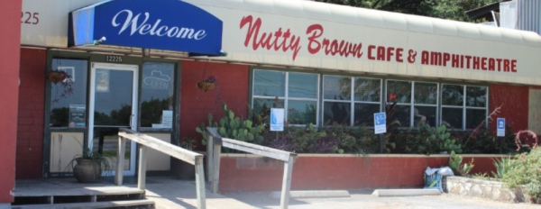 Nutty Brown Cafe & Amphitheatre is a south Austin music venue that first opened in July 2000. (Community Impact Staff)