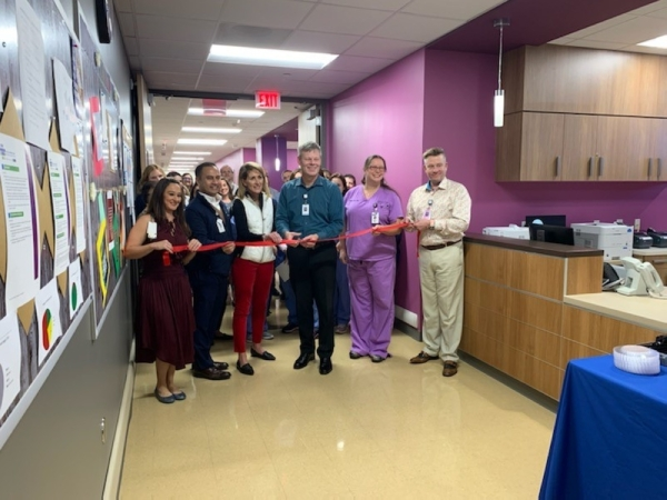 Ascension Seton Hays cut the ribbon on the new maternity unit. (Courtesy Ascension Seton Hays)