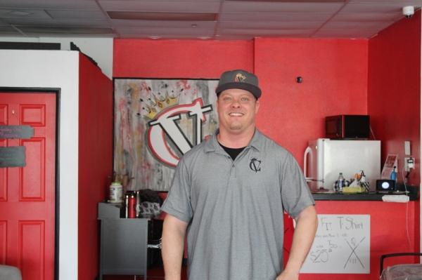Jason Rodie is the owner of Creating Vitality in Chandler. (Alexa D'Angelo/Community Impact Newspaper)