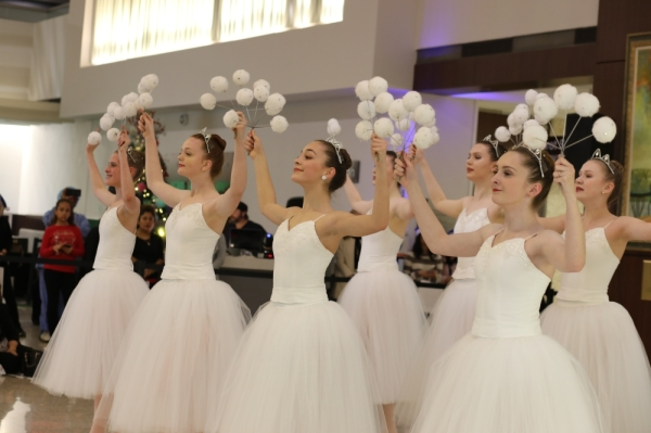 "Plano's Chamberlain Ballet performed ""The Nutcracker"" at Texas Health Dallas on Dec. 7. The ballet company has three planned special performances following its regular season performances in November. (Courtesy Texas Health Resources)"