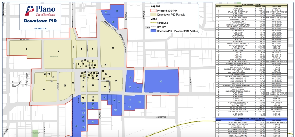 The city of Plano has expanded its public improvement district that supports events and marketing for downtown Plano. (Courtesy city of Plano)