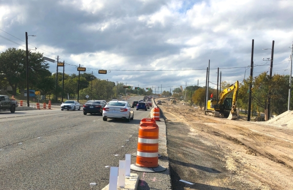 The Texas Department of Transportation is widening RM 2222 at RM 620 to provide traffic congestion relief in the Four Points area. (Courtesy TxDOT)