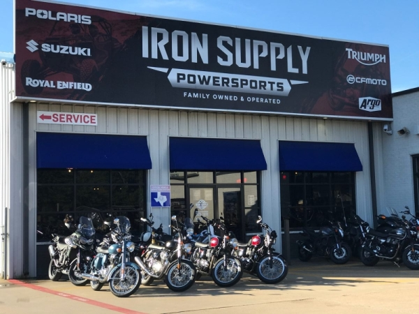 Iron Supply Powersports is located at at 6117 Highway Blvd., Katy. (Courtesy Iron Supply Powersports)