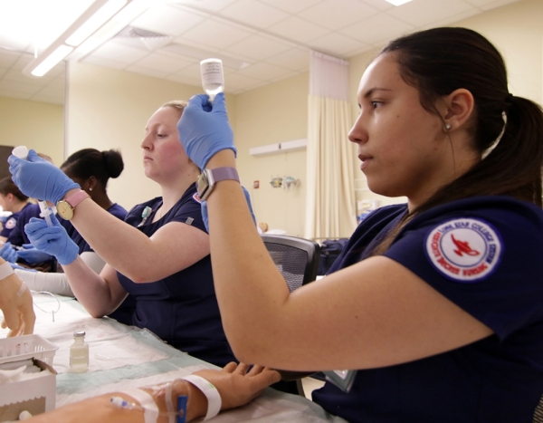 Licensed registered nurses can earn the Bachelor of Science in nursing degree to be better prepared for leadership and management roles. (Courtesy Lone Star College)