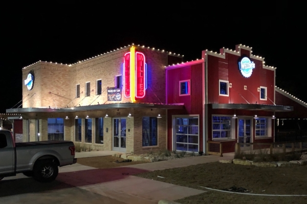 The Georgetown Willie's Grill & Icehouse, pictured, will open for business at the end of January. (Courtesy Willie's Grill & Icehouse)