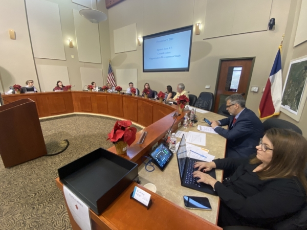Lakeway City Council held a special meeting at 2 p.m. Dec. 9. (Brian Rash/Community Impact Newspaper)