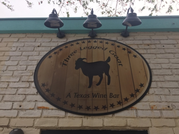 Three Legged Goat, a wine and craft beer bar, will expand its facilities in downtown Pflugerville. (Taylor Jackson Buchanan/Community Impact Newspaper)