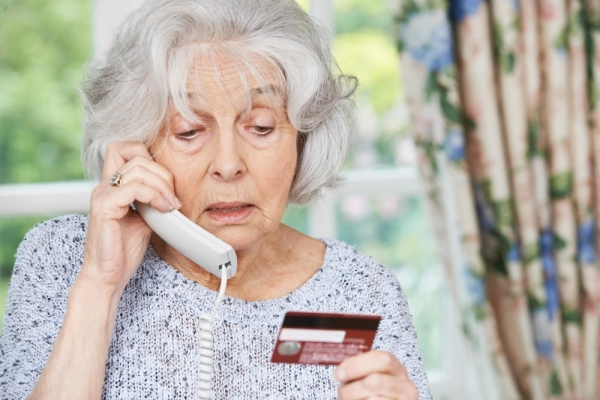 Local officials say seniors are one of the groups most targeted for financial fraud. (courtesy Adobe Stock)