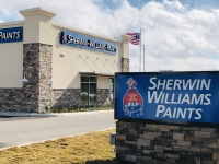 Sherwin-Williams opened a second New Braunfels location Nov. 11. (Ian Pribanic/Community Impact Newspaper)