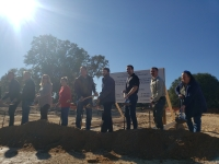 River Ranch County Park celebrates the groundbreaking of its $1.9 million interpretive center Dec. 10. (Ali Linan/Community Impact Newspaper)