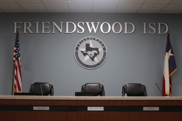Friendswood ISD board room