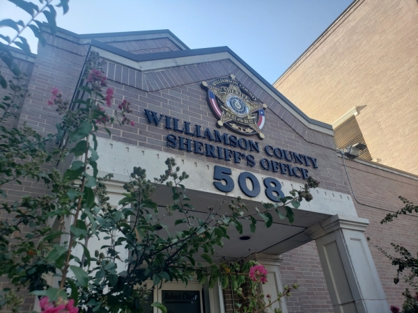 The Williamson County Sheriff's Office is located at 508 Rock St., Georgetown. (Ali Linan/Community Impact Newspaper)