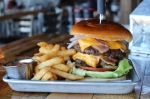 Cheat Day (13.99): Double patties with bacon, cheese, butter lettuce, pickles, red onions and beefsteak tomatoes (Nola Z. Valente/Community Impact Newspaper)