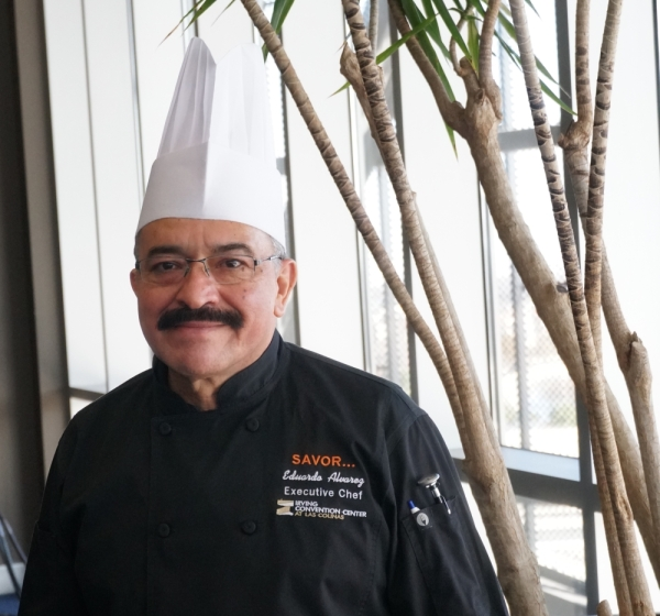 Alvarez has headed the convention center's kitchen since before its opening in 2011. (Gavin Pugh/Community Impact Newspaper)