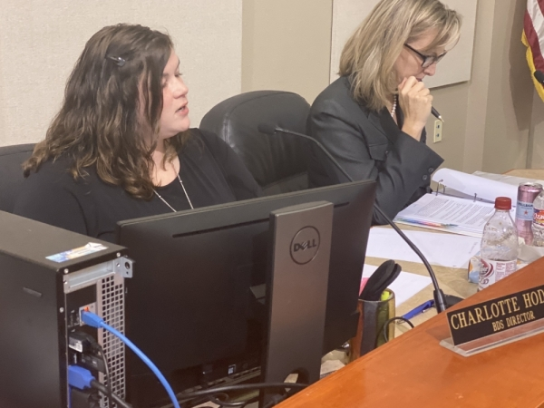 Lakeway Building and Development Services Director Charlotte Hodges said three variances were requested in concert with the preliminary plan approval of Lakeway Estates. (Brian Rash/Community Impact Newspaper)